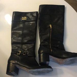 Coach knee high boots